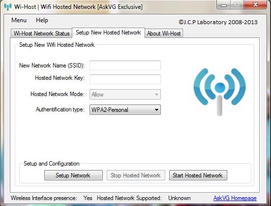 wifi host